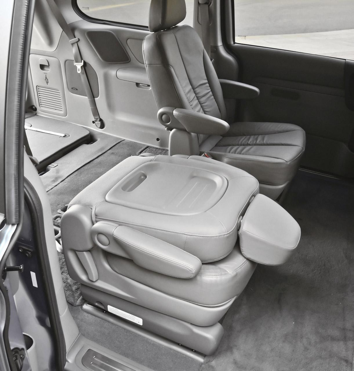 2007 Kia Sedona Interior: Kia Sedona Adopts New Engine, Corporate Grille For 2011
